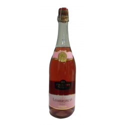 Botella de Lambrusco